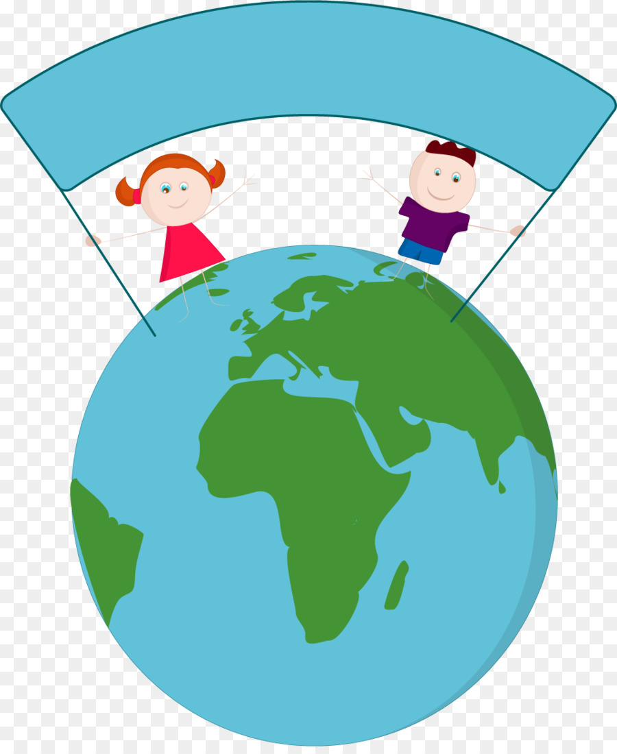 World Map Vector Map Google Maps   Globes And Cute Cartoon Characters