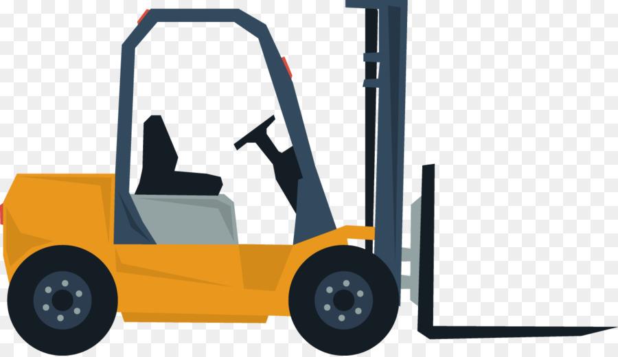 Car Wheel Forklift Automotive Design Vector Creative Design