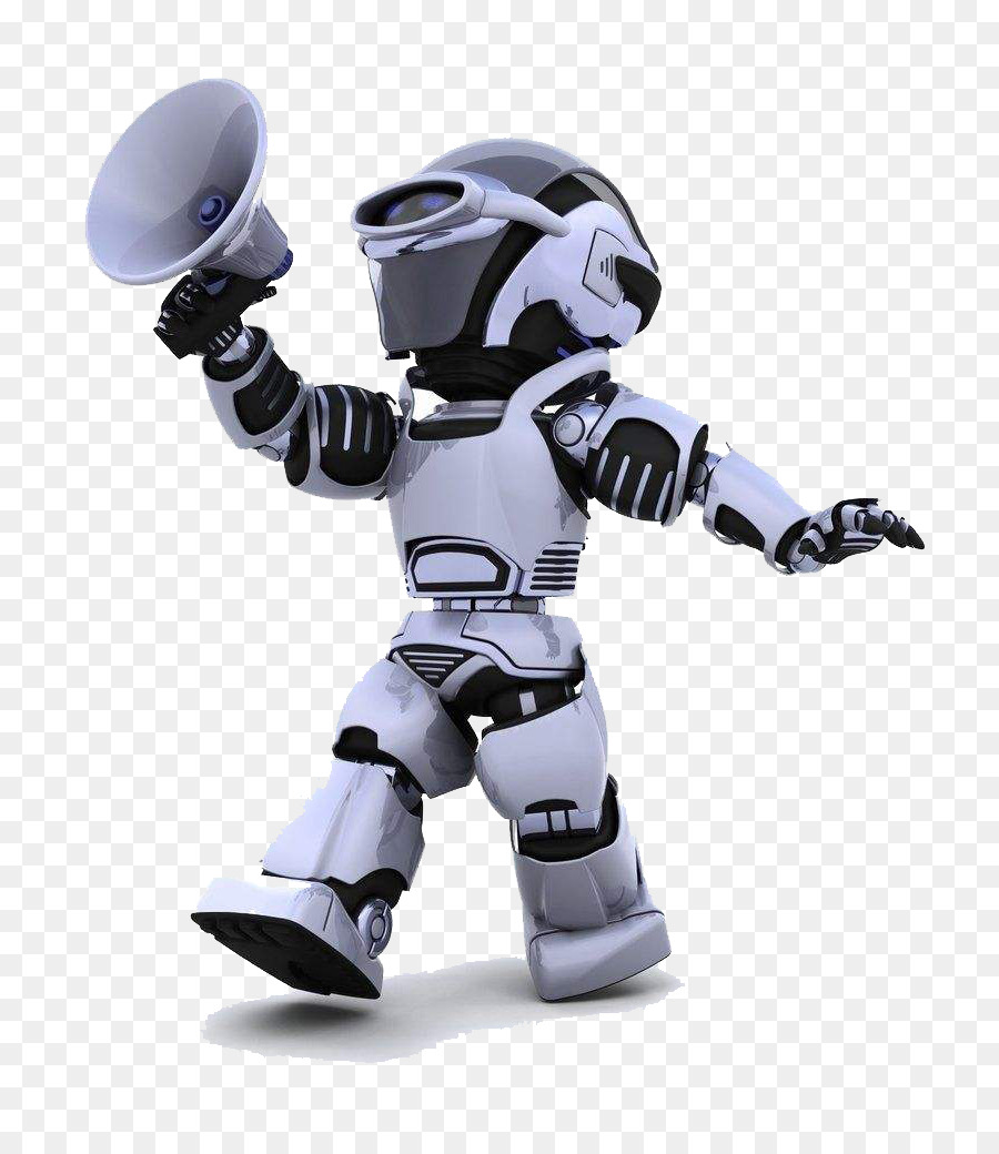 Robot Stock photography Cyborg Illustration - Robot HD with a horn png download - 800*1030 - Free Transparent Robot png Download.