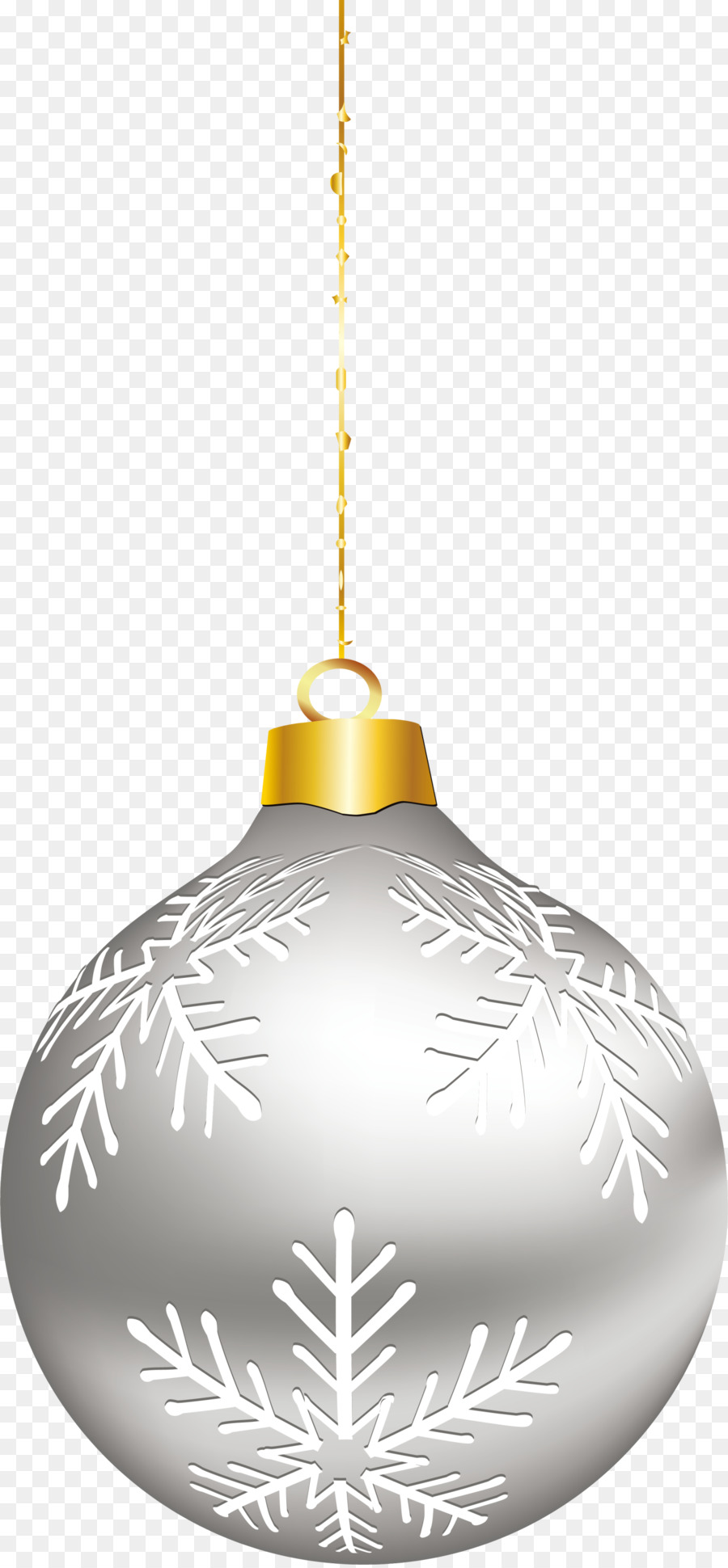 Christmas Ornament Silver