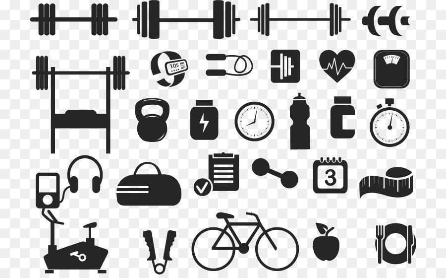 Fitness Centre Kettlebell Physical Exercise Vector