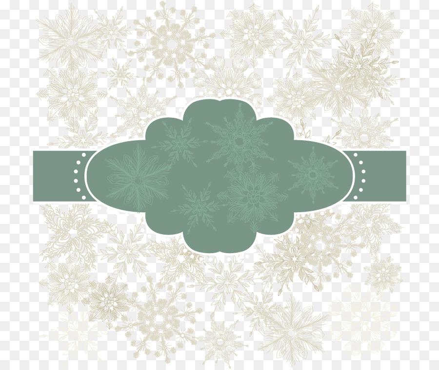 Weihnachten, Baum, Schnee, Schneeflocke-Download - Vektor ...