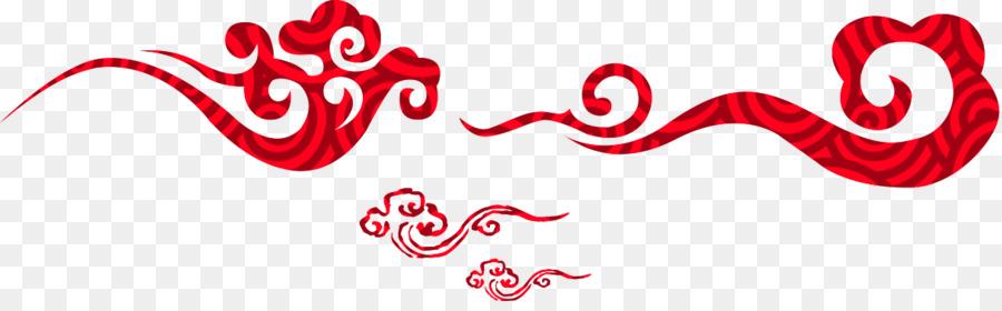 Rouge Clip Art Arc En Ciel Des Nuages Créatif