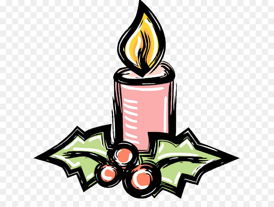 Christmas Candle Clip Art Candle Png Download 680680 Free