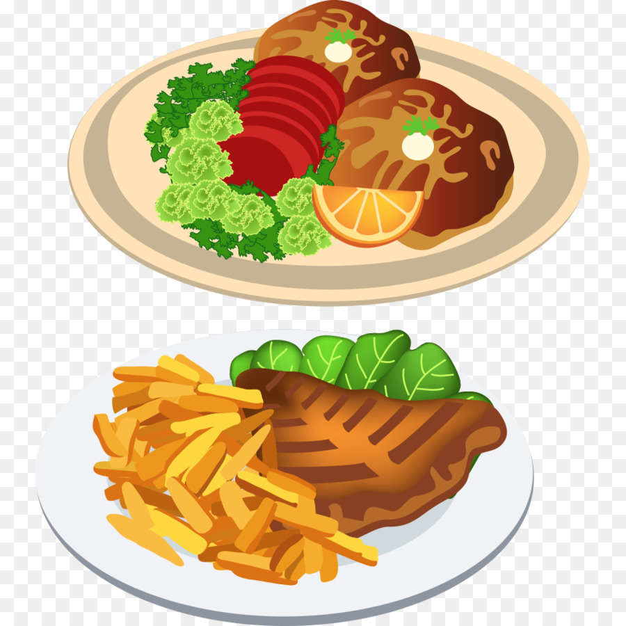 fast food dinner clip art delicious chicken png download 945 945