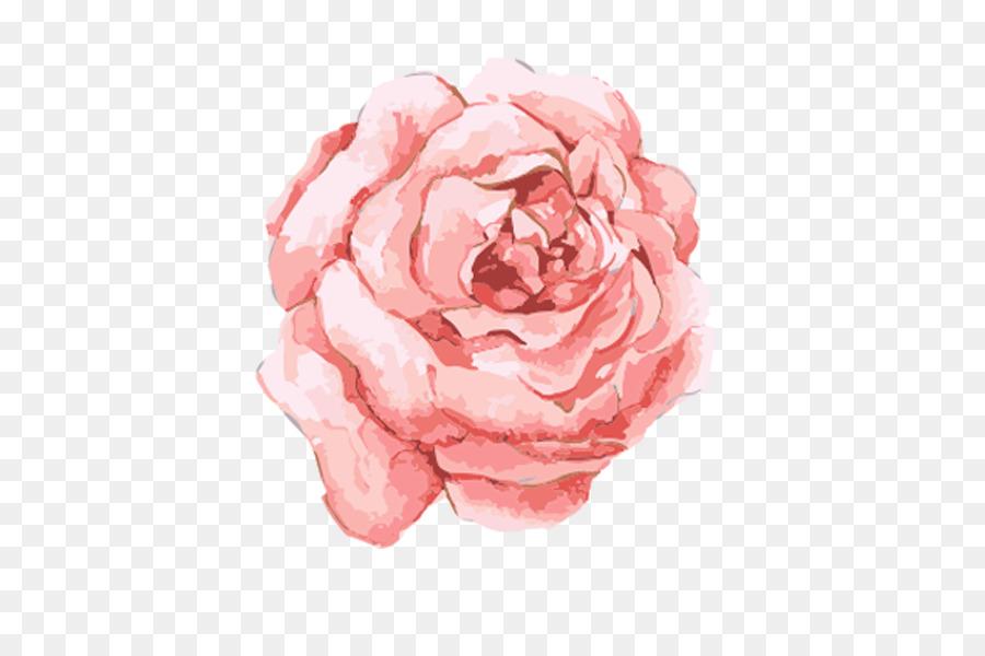 Watercolor Flowers Watercolor Painting Pink Flowers Rose Png
