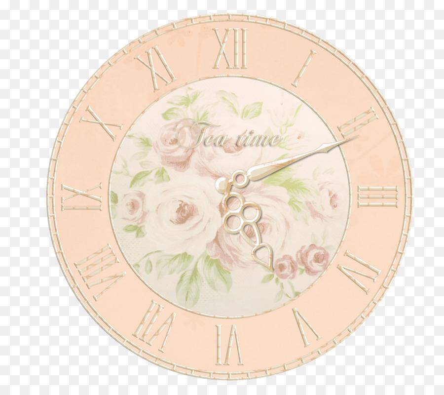 Zazzle Blumenstrauss Fliesen Retro Uhr Png Herunterladen 800 784