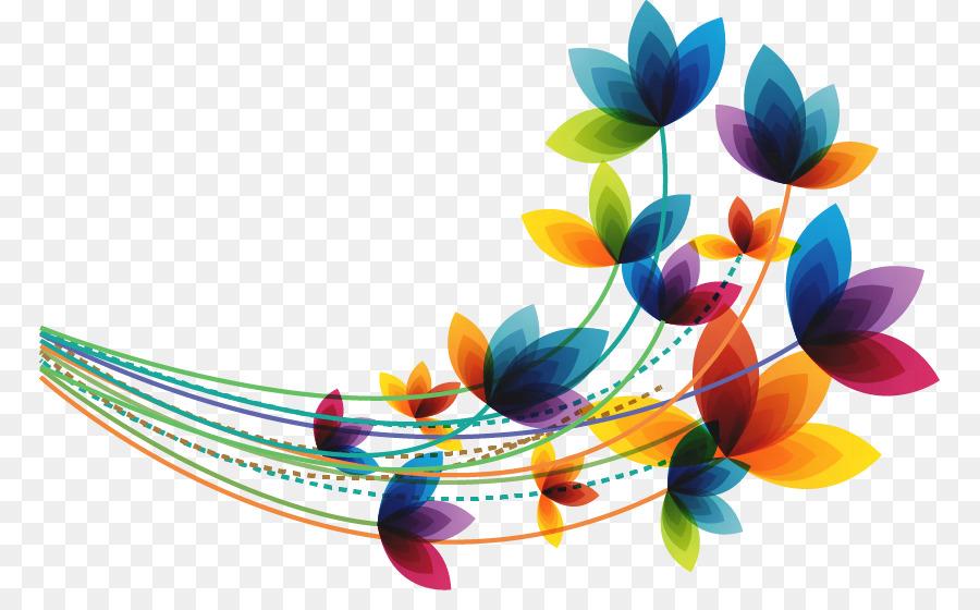 Flor de Primavera Euclidiana del vector Clip art - Resumen de la ...