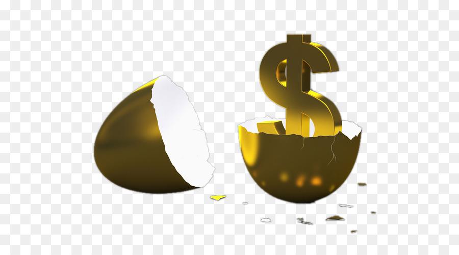 Eggshell Ovo De Ouro Computer File Creative Golden Eggs Broken