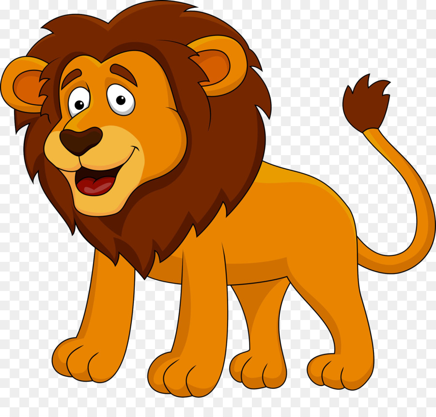 Lion Cartoon png download - 1925*1815 - Free Transparent
