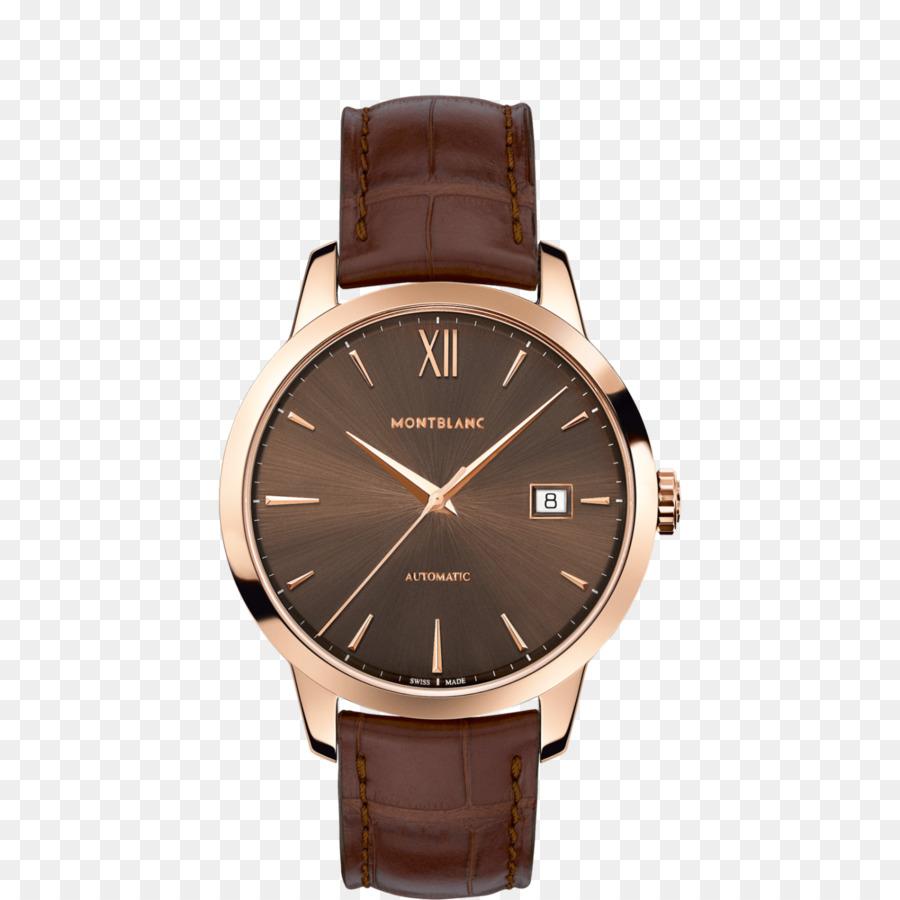 258c0620448 Montblanc Meisterstxfcck relógio Automático Jóias - Ouro cor de café relógio  mecânico Montblanc relógio masculino relógio