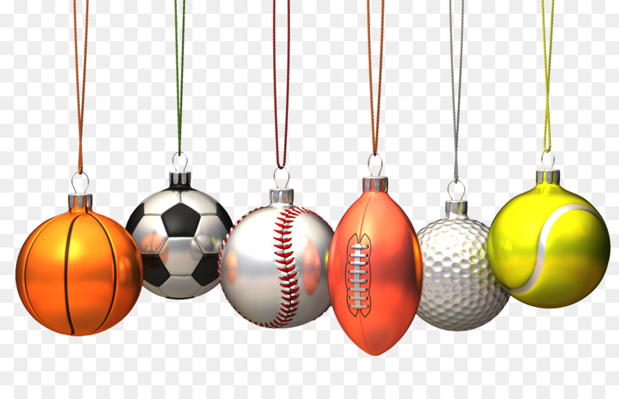 Basketball Christmas ornament Ball game Football - Sports balls bell