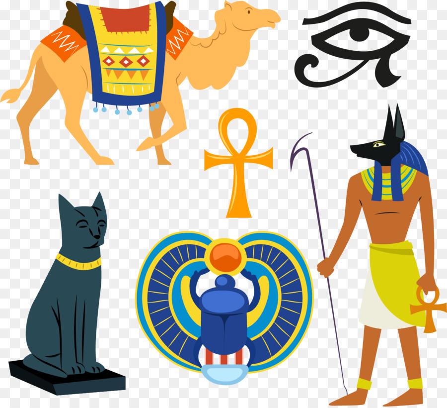 Mısır Piramitleri Mısır Tanrıları Resimde Firavun Antik Eski