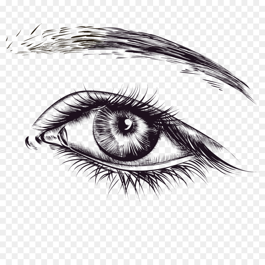 lip sketch vector a pair of eyes png download 1600 1600 free