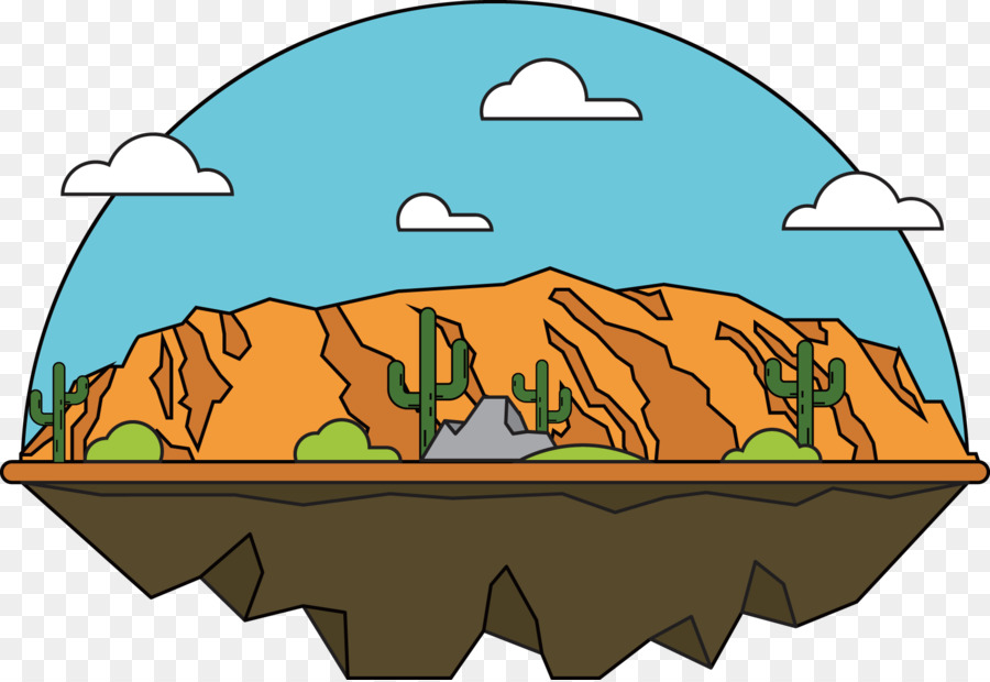 grand canyon clip art lovely hand painted illustrations vector rh kisspng com desert clipart black and white dessert clip art free