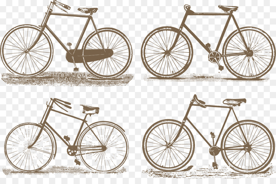 Rueda de bicicleta de cuadro de la Bicicleta sillín de la Bicicleta ...