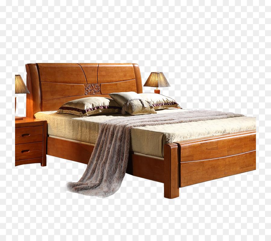 Marco de la cama de la Tabla de Muebles de Madera - Producto tipo de ...