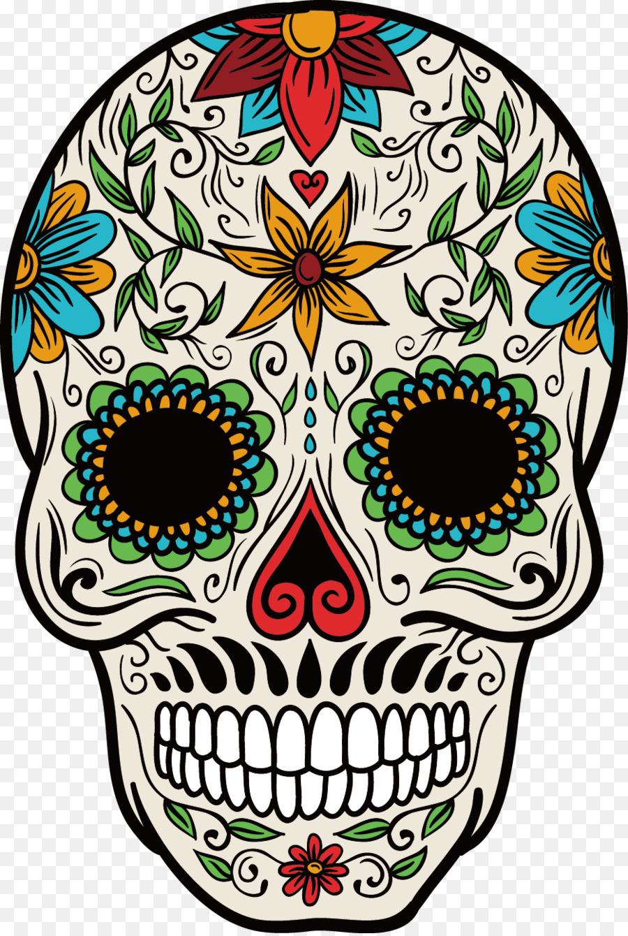 Resultado de imagen de catrinas mexicanas dibujos a color