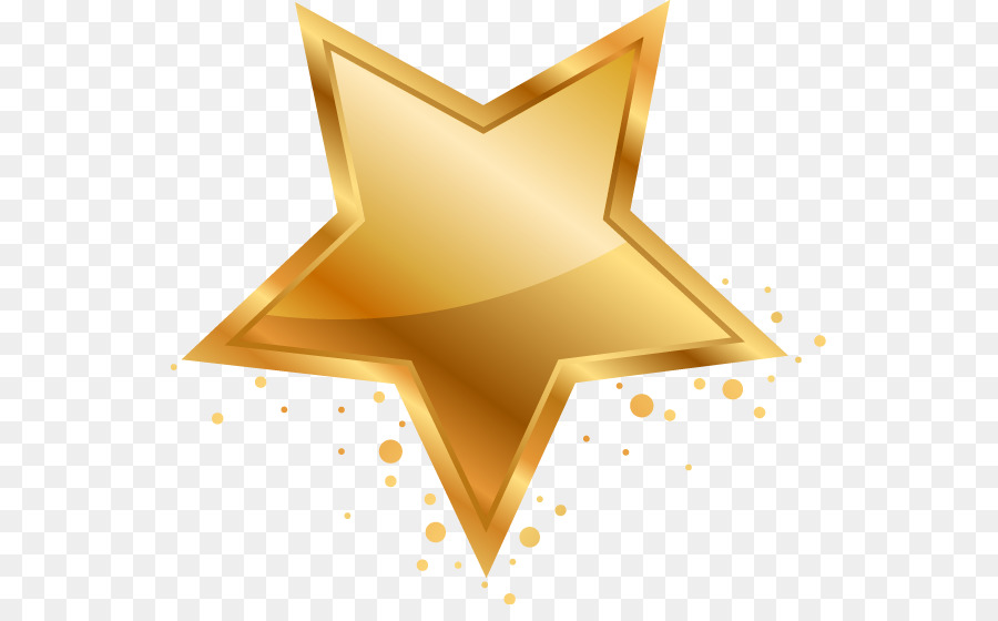 Five Pointed Star Adobe Illustrator Clip Art Gold Five Pointed