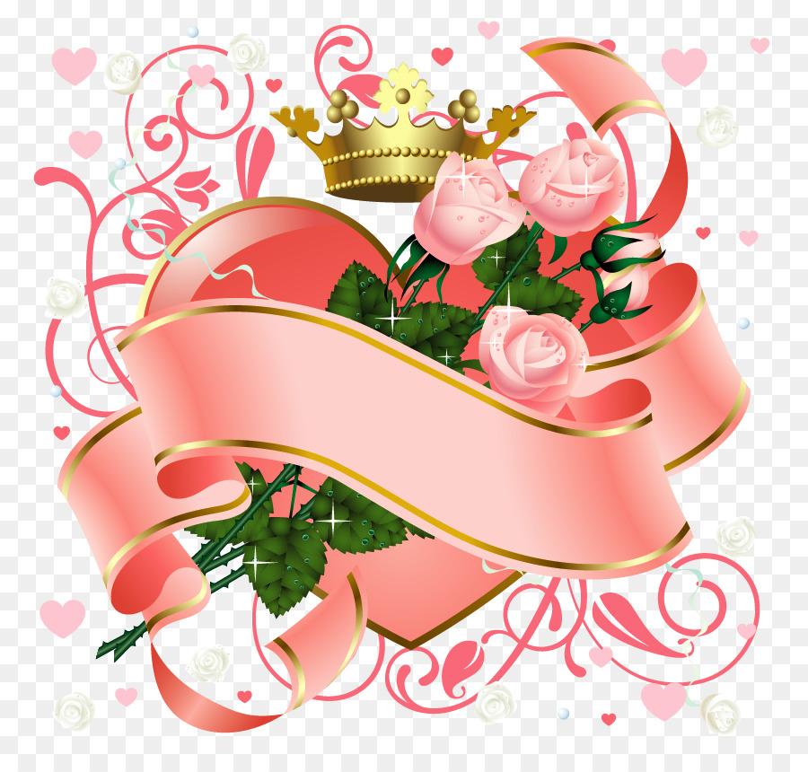 Love Flower Heart Valentines Day Wallpaper