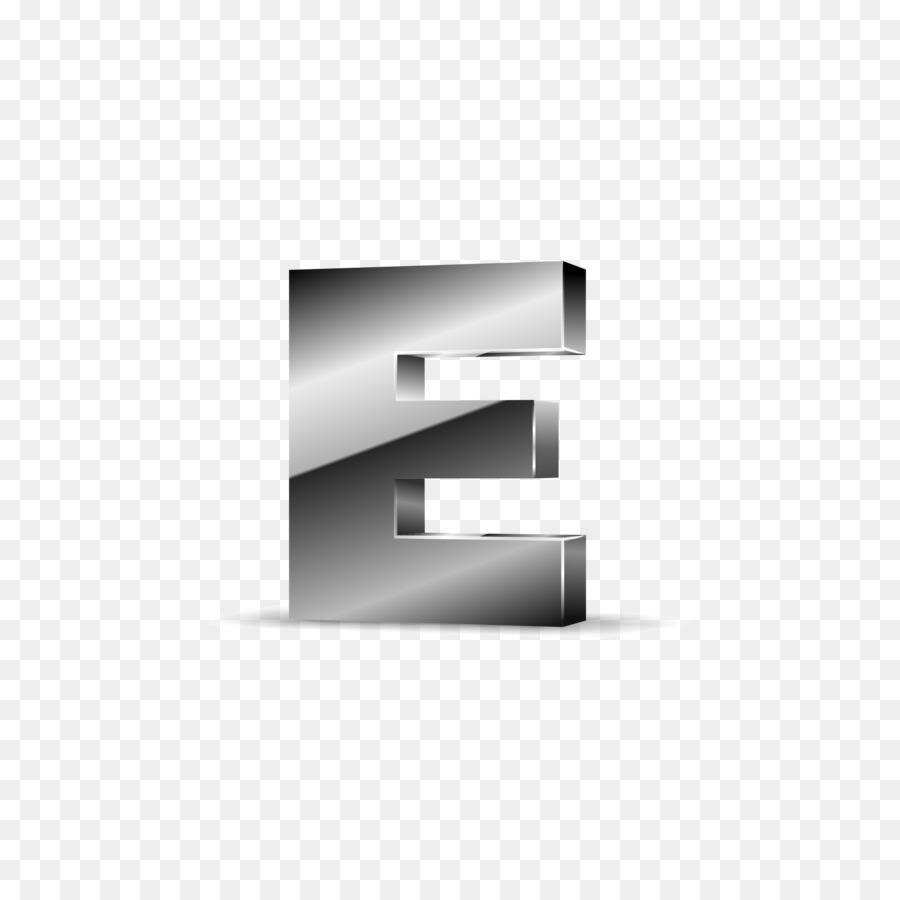 Letter Euclidean Vector Silver Three Dimensional Space