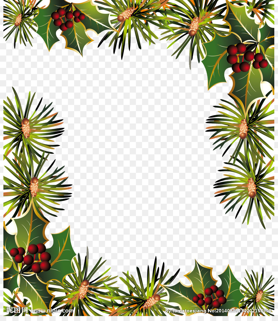 Christmas Ornament Paper Garland New Year