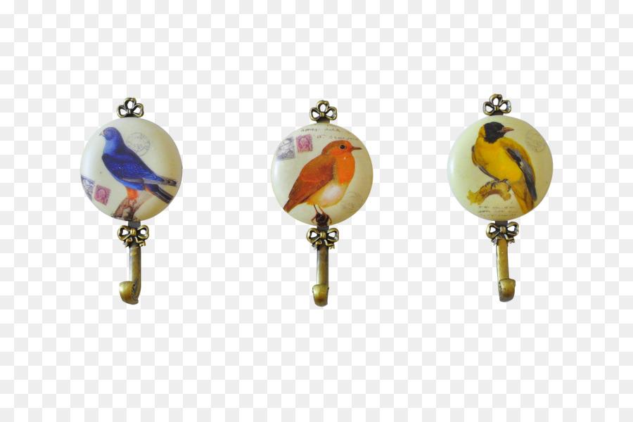 Vogel Ohrring Designer Retro Vogel Haken Png Herunterladen 4288