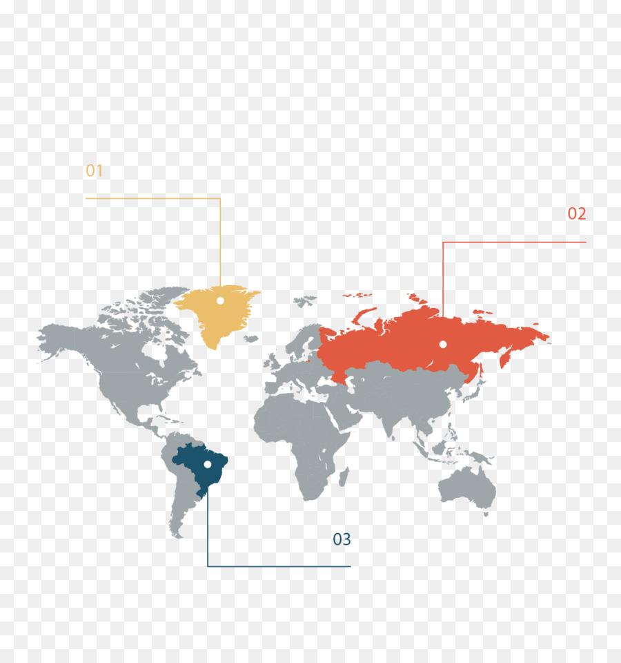 Globe World Map Clip Art   PPT Material