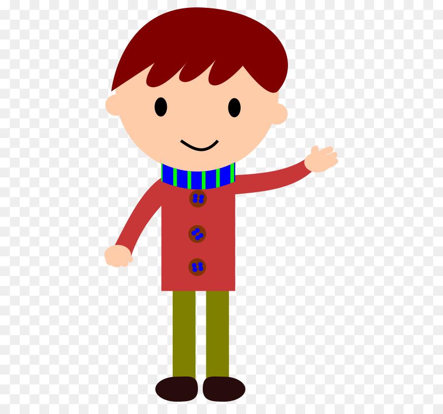 free content boy clip art cartoon kids waving png