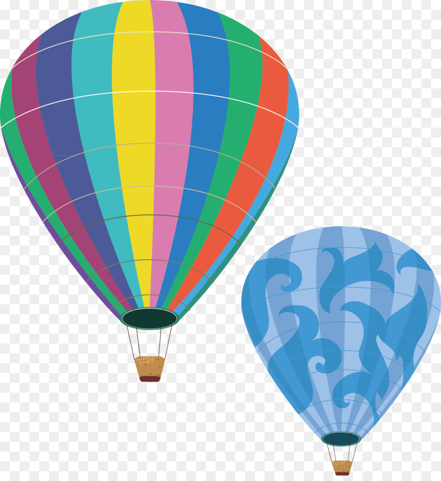 Globos de aire caliente Clip art - Color de globo de aire caliente ...