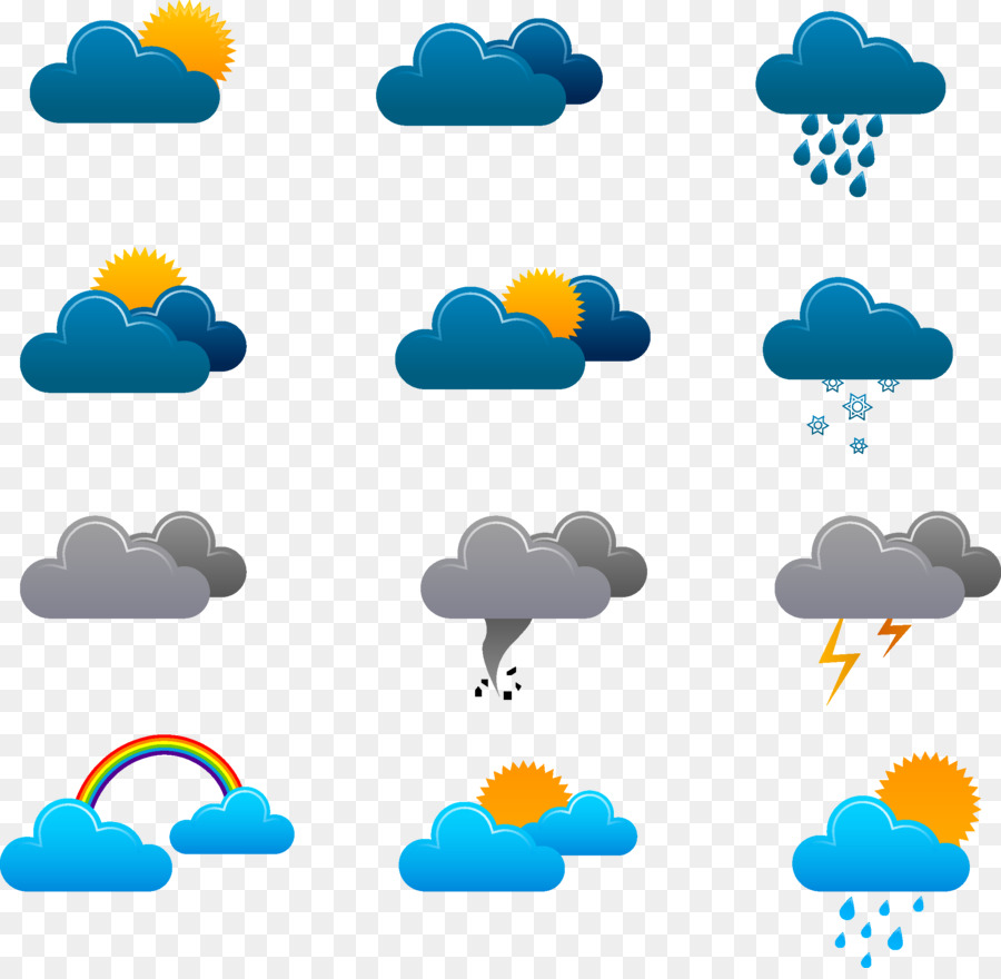 Weather forecasting Icon - Weather forecast icon png ...  Weather forecas...