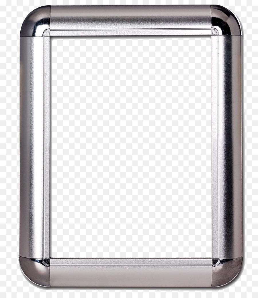 De aluminio del marco de la Imagen de Extrusión de Publicidad ...