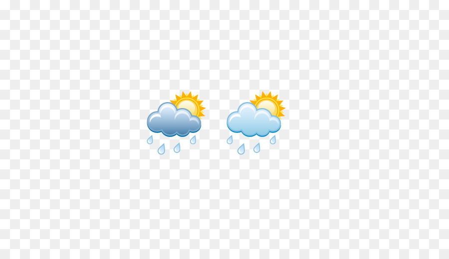 Weather Forecasting Rain Cloud Hail Weather Symbolscloudy With