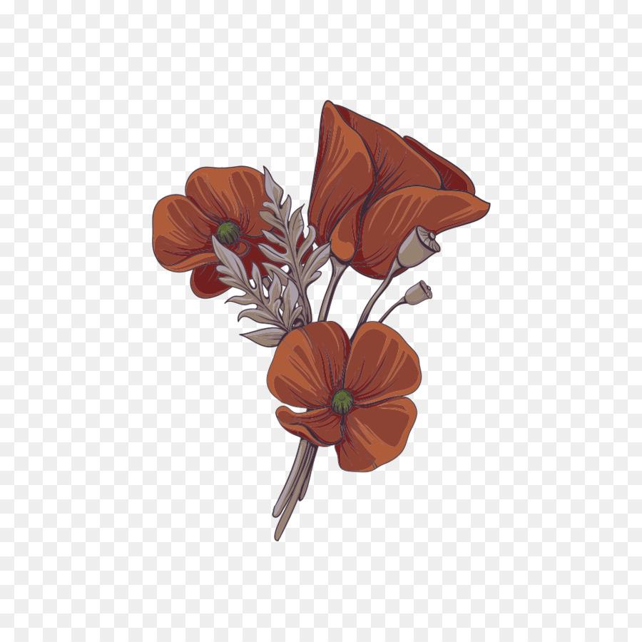Цвет 434 коричневый
