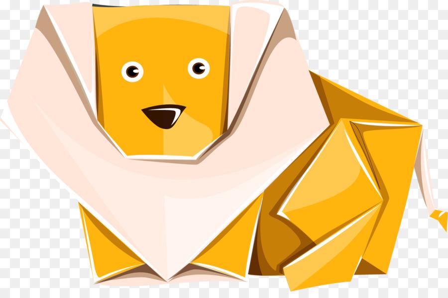 Paper Plane Origami Dog Clip Art