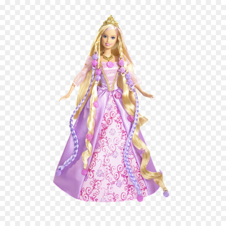 Barbie como Rapunzel Ken Doll - Muñeca Barbie png dibujo ...