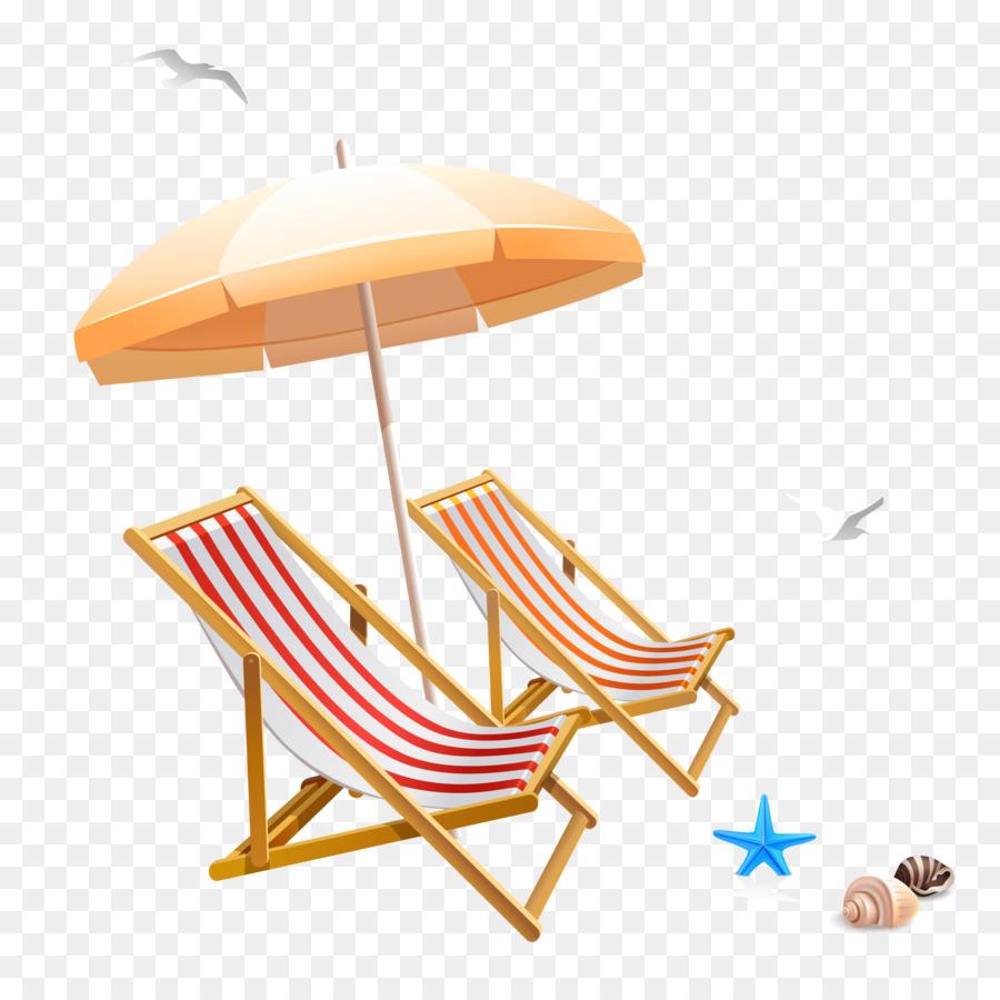 Chair Beach Umbrella Clip Art Chairs And