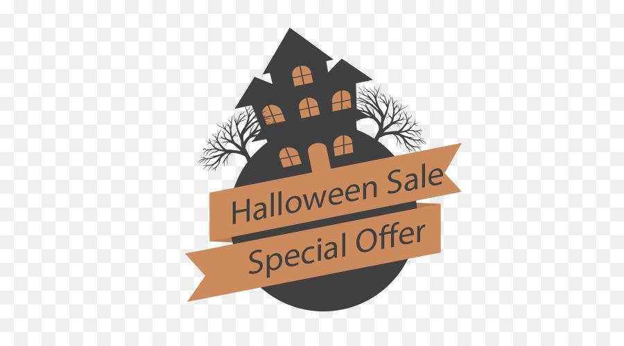 Halloween De Papel Logotipo - Halloween Promoción De La Etiqueta ...