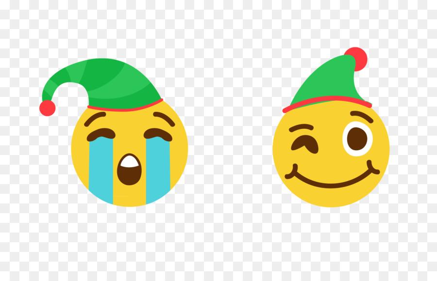 smiley emoticon clip art christmas face - Christmas Smiley Faces