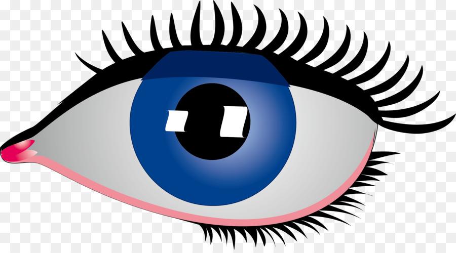 Eye Rebus Clip Art Simple Cartoon Big Blue Eyes Png Download