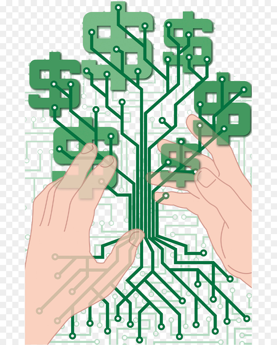 Electronic circuit Printed circuit board Money Electrical network ...