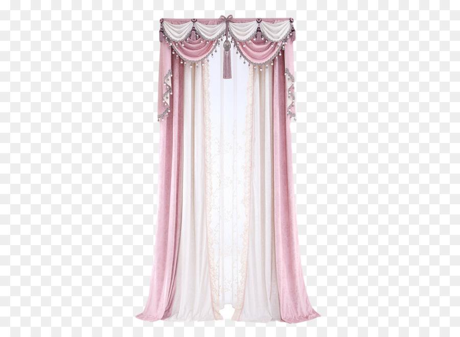 Curtain Window Pink Tela