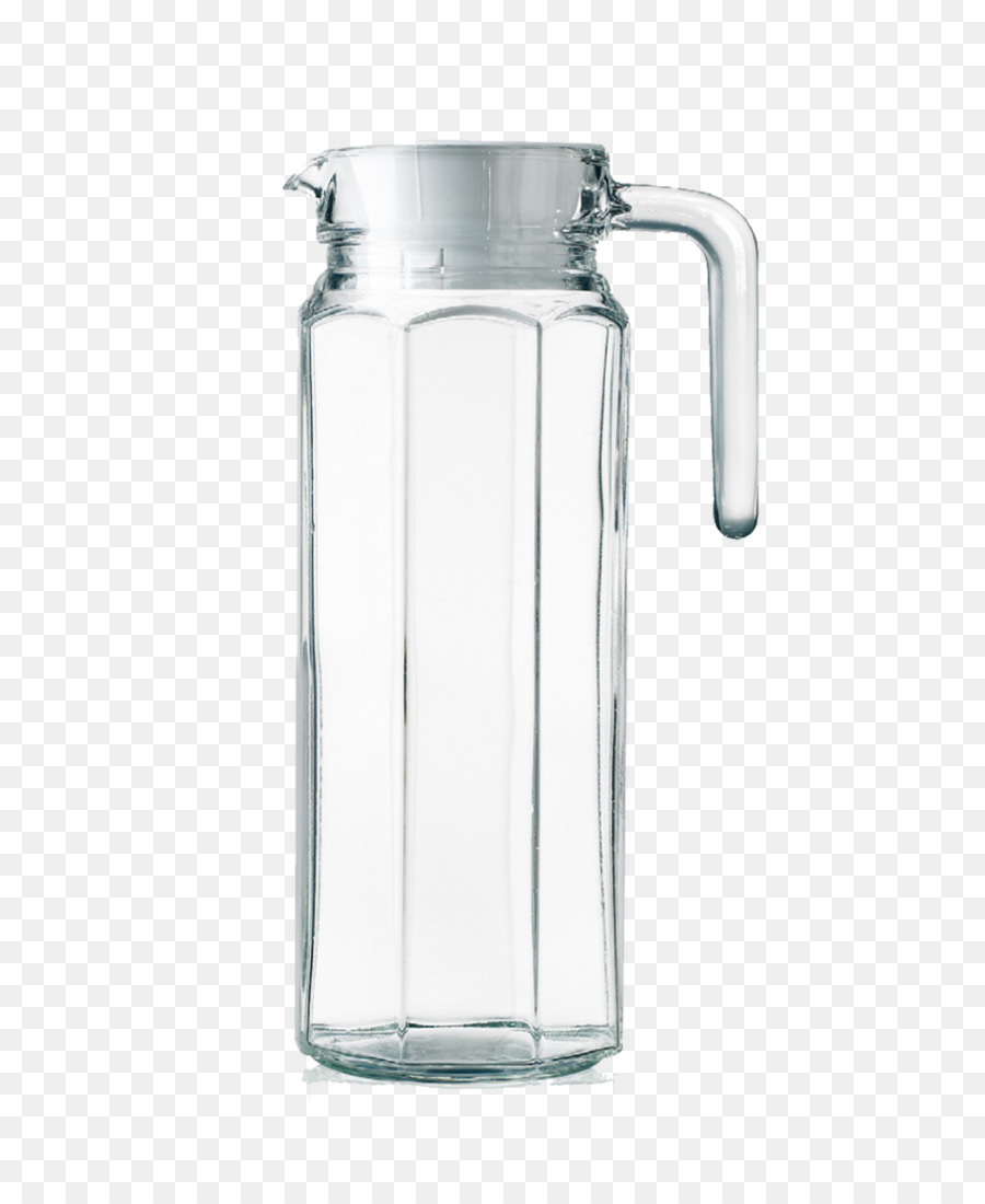 Glass Cup Water bottle Container Jug Glass water containers png