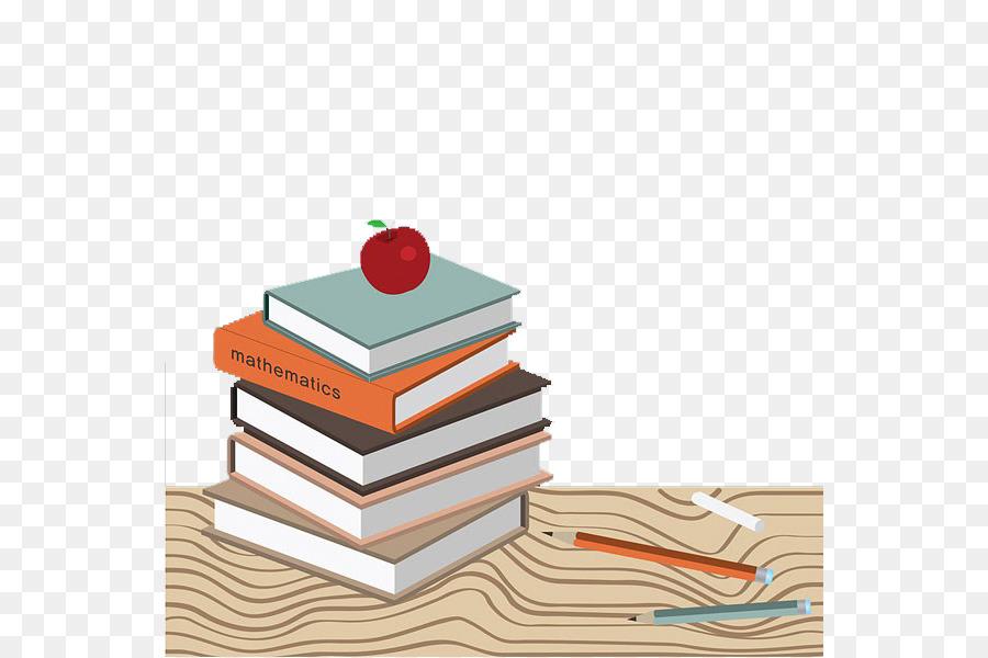 Libro De Lápiz - Los libros y los lápices png dibujo - Transparente ...