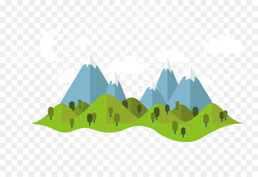summer illustration vector cartoon mountains png download 4825 3239 free transparent grass hearts border clip art png heart borders clip art images