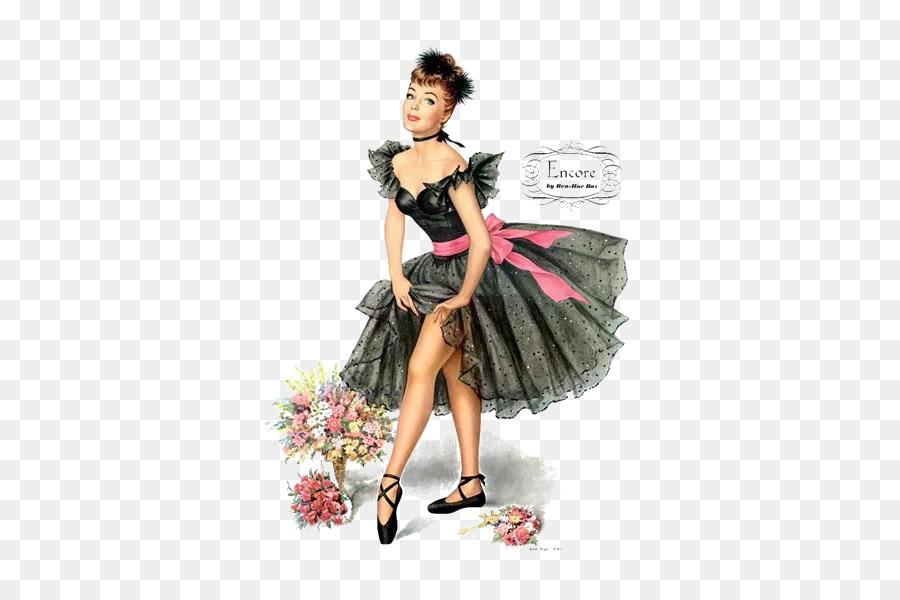 Betty Boop Birthday Cake Wish Greeting Card Elegant Woman Png