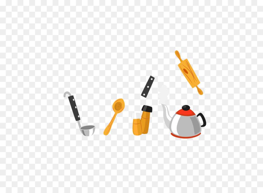 Poster di cartone animato - Cartoon utensili da cucina scaricare png ...