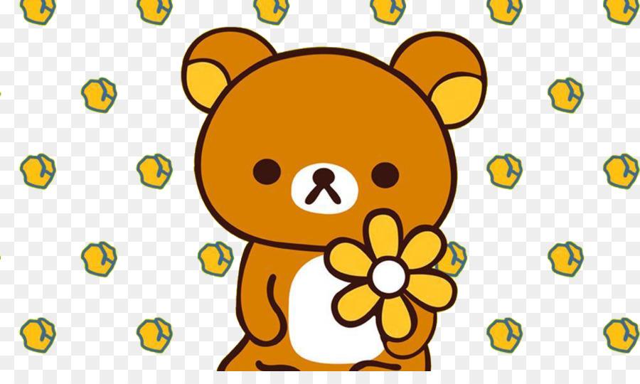 rilakkuma download cartoon cartoon cute bear background png