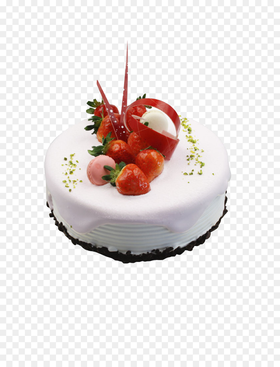 Birthday Cake Tea Xc9clair Strawberry Cream Cake Birthday Cake Png