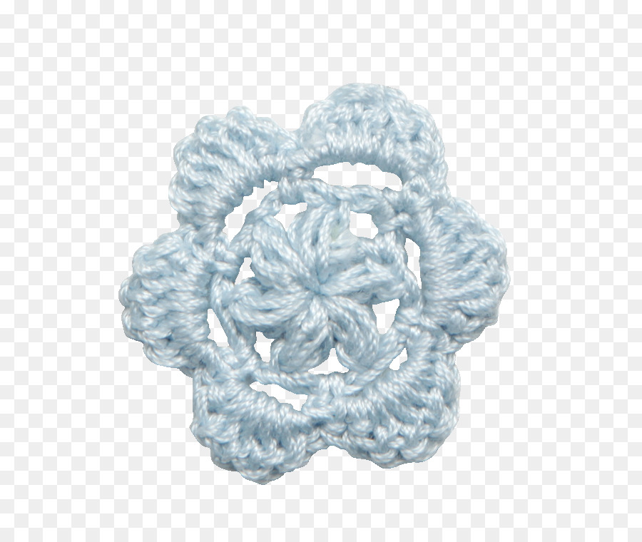 Flor De Lana Azul - La lana de la cadena de enlace valla de material ...